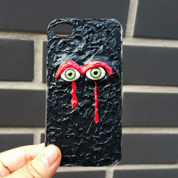 iPhone 6 Case, iPhone 5 Case, iPhone 5c Case, iPhone 5s Case, iPhone 6 Plus Case,  goth kawaii iphone case, Decoden eyes phone case