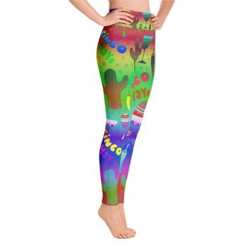 Cinco De Mayo Leggings -  Fifth of May leggings