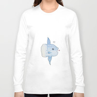 Mola Mola Long Sleeve T-shirt by Daynasdoodleydoos