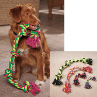 Rope Toy: Flossy Chews Dog Toys |DrsFosterSmith.com