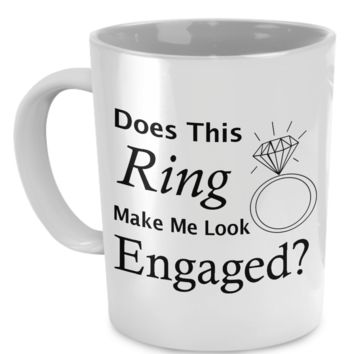 Does this ring make me look engaged look-engaged
