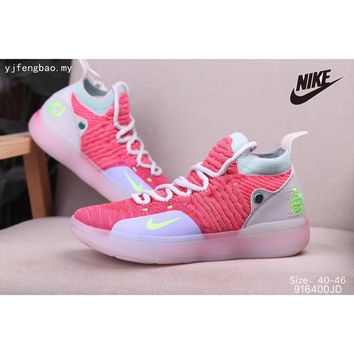 New Arrival Original Nike zoom kd 11 ep antiskid size40-46 mens womens shoes