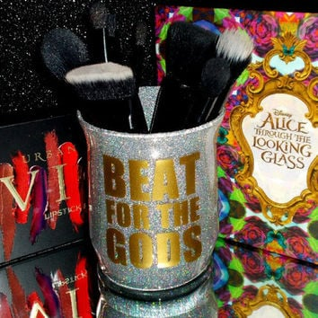 Beat For The Gods Makeup Brush Holder - YOU CUSTOMIZE!
