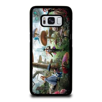 ALICE IN WONDERLAND Disney Samsung Galaxy S3 S4 S5 S6 S7 Edge S8 Plus, Note 3 4 5 8 Case Cover