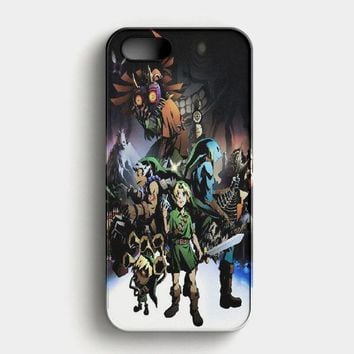 Legend Of Zelda Link Holding Apple Dangerous iPhone SE Case