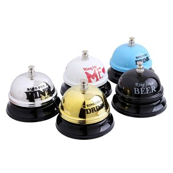 Desk Hotel Counter Reception Restaurant Bar Ringer Call Bell Service Wedding Gifts For Guests Christmas  Navidad Party Favor