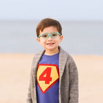 Birthday Shirts Number 6 6th Children Costume Super