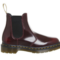 Dr. Martens Vegan 2976 Chelsea Boots Cherry - Ankle Boots