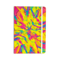 "Danny Ivan ""Bubble Gum Explosion"" Pink Yellow Everything Notebook"