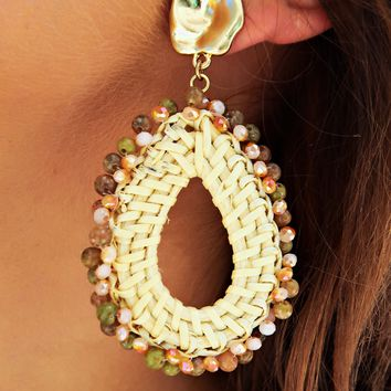 Every Little Thing Earrings: Natural