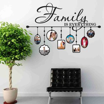 Family Picture Frame Wall Decal