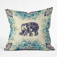 RosebudStudio Wild Heart Outdoor Throw Pillow