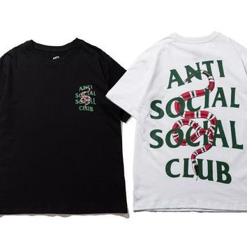 ASSC Snake Short Sleeve Fashion Unisex T-shirts [11516533132]