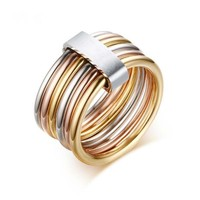 Ring Stack - Stainless Steel