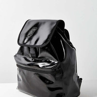 Patent Flap Backpack | Urban Outfitters