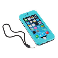 Premium Waterproof Shockproof Dirtproof Snowproof Rainproof Durable Case Cover with Stand for for iPhone 6 case Touch ID Support