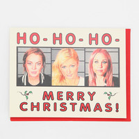 Seas & Peas Ho Ho Ho Holiday Card
