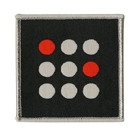 Licensed cool 21 Twenty One Pilots Square Dots Blurryface Embroidered IRON ON Patch Badge NEW