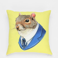 Berkley Illustration Cornelius Pillow - Urban Outfitters