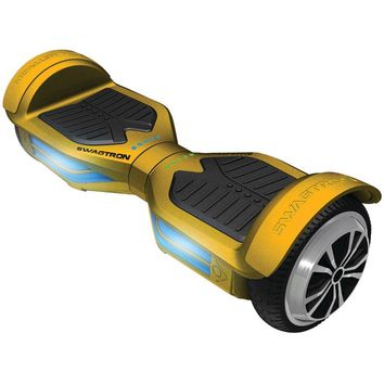 SWAGTRON 89717-8 T3 GOLD Swagtron T3 Hoverboard (Gold)