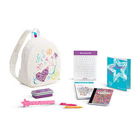 American Girl® Accessories: Doodle Backpack Set