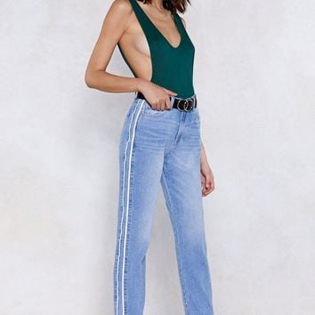 Choose Sides Mom Jeans