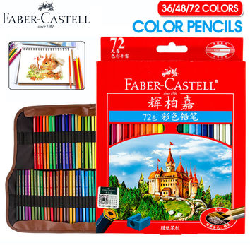 Faber Castell Colored Pencils Pack 36/48/72