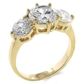 WildKlass 3-Stone Engagement Ring