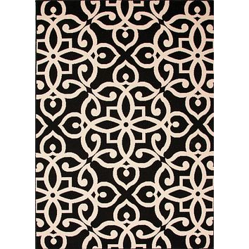Jaipur Bloom Scrolled Area Rug