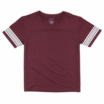 Boxercraft Maroon Game Time Top