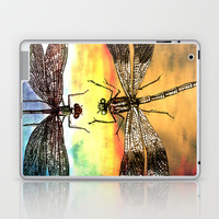 DRAGONFLY meets a Friend Laptop & iPad Skin by Pia Schneider [atelier COLOUR-VISION]