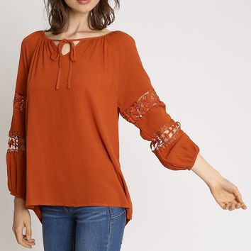 Rolland Blouse | Ruche