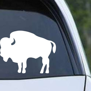 Buffalo Bison (02) Die Cut Vinyl Decal Sticker