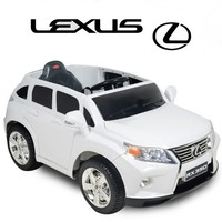 RIDE ON TOY LICENSE LEXUS-RX350 Bluetooth Remote Control,12V 7Ah Battery AND 2 MOTORS, MP3 player connection NEW MODEL ELECTRIC CAR FOR KIDS