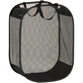Honey-can-do Mesh Hamper With Handles