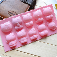 Hello Kitty Bear Bunny Chocolate Candy Mould