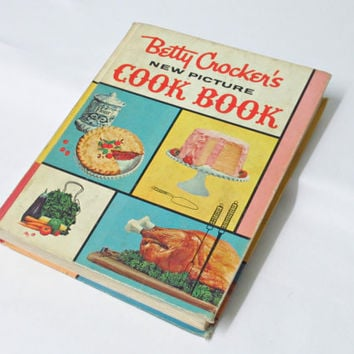 Vintage Betty Crocker Cookbook 1961 New Picture by ItchforKitsch