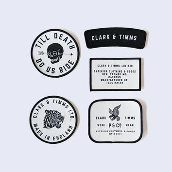 CLARK & TIMMS Patch Pack