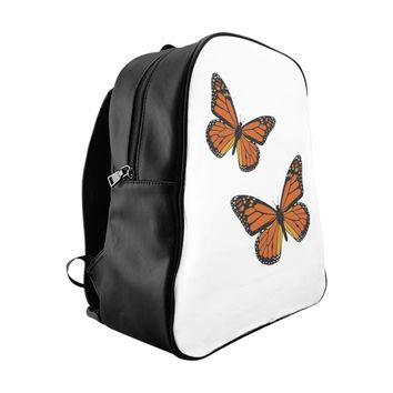 Monarch Butterfly School Backpack