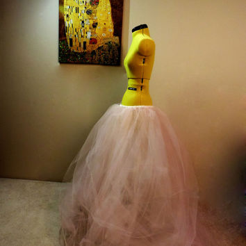 Enchanting Fairytale Tulle Full Length Tutu Skirt great for photo shoots weddings prom