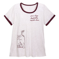 Eeyore Ringer T-Shirt for Women - Winnie the Pooh - Plus Size