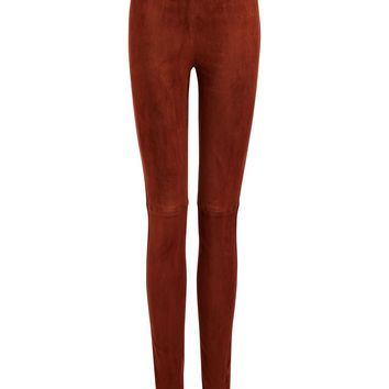 Suede Stretch Leggings