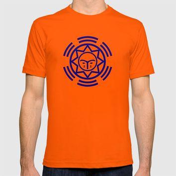 African Shield In Two Colors T-shirt by kevinlbrooks