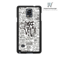 Pierce The Veil Song Lyric For Samsung Galaxy Note 3 | 4 Case