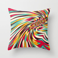 Vanishing Point Throw Pillow by Danny Ivan
