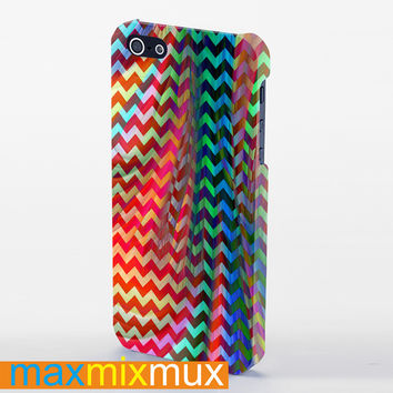 Chevron Ful Color iPhone 4/4S, 5/5S, 5C Series Full Wrap Case
