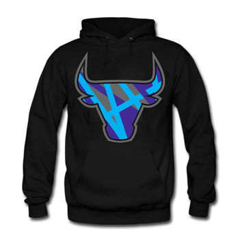The Fresh I Am Clothing Bully Aqua 8s Hoodie