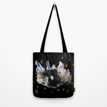 Star Aura Quartz Tote Bag by Azima