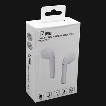 Wireless Bluetooth Headphones In-Ear Earbud Stereo For Apple iPhone 7 8 Plus X