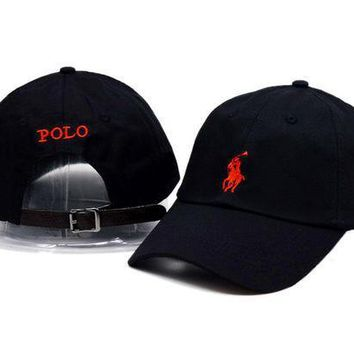Polo Embroidery Sport Sunhat Baseball Cap Hat